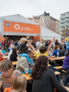 Andrang beim Wiener Forschungsfest 2013